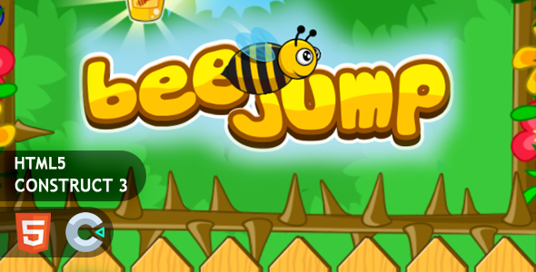 [Free Download] Flappy Bee Jump HTML5 Construct 3 Game (Nulled) [Latest Version]