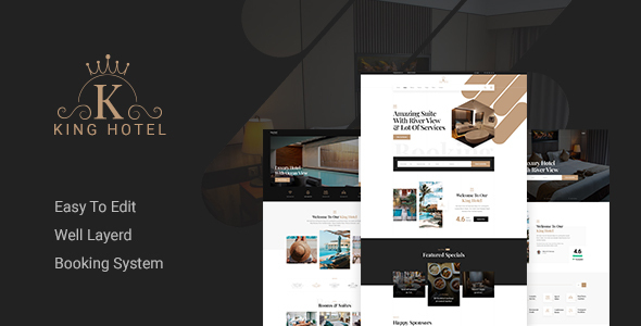 [Free Download] KingHo – Hotel Booking PSD Template (Nulled) [Latest Version]