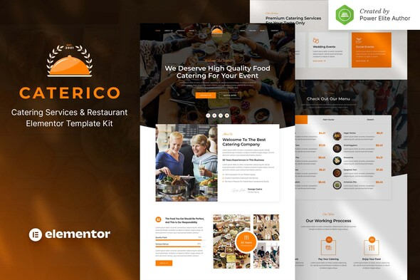 [Free Download] Caterico – Catering Services & Restaurant Elementor Template Kit (Nulled) [Latest Version]