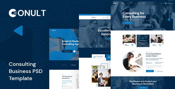 [Free Download] Conult – Consulting Business PSD Template (Nulled) [Latest Version]