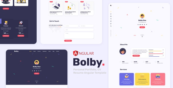 [Free Download] Bolby – Personal Portfolio Angular Template (Nulled) [Latest Version]