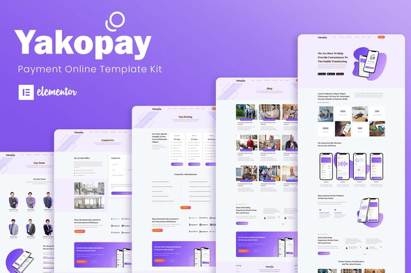 [Free Download] Yakopay – Online Payment App Elementor Template Kit (Nulled) [Latest Version]