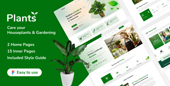 [Free Download] Plantstore – Gardening and Landscaping Figma Template (Nulled) [Latest Version]