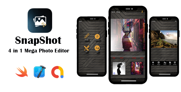 [Free Download] SnapShot – Mega Photo Editor | Google AdMob | In App Purchase | iOS Source Code (Nulled) [Latest Version]